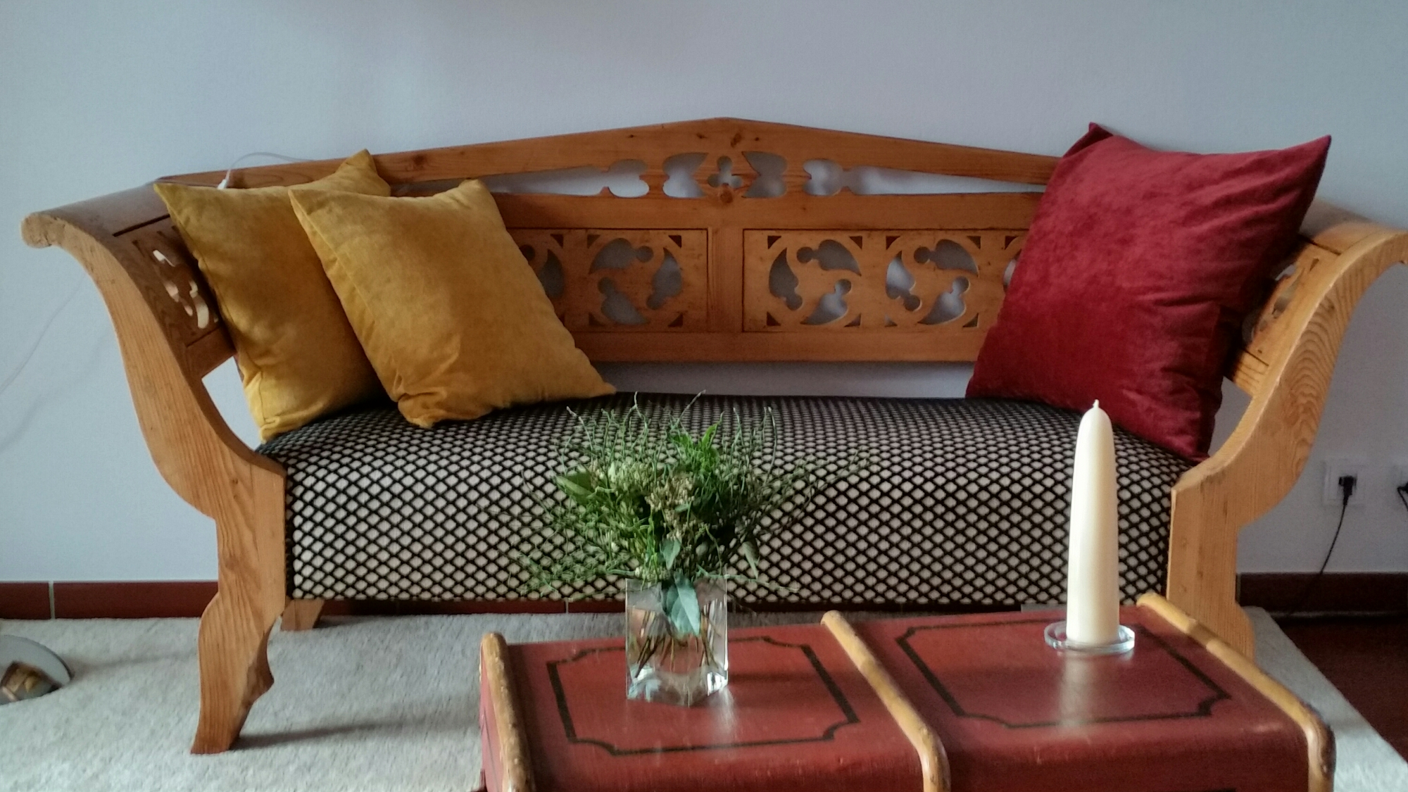 einrichtung f r einen kunden in gessertshausen joop m belstoffe und jab gardinen. Black Bedroom Furniture Sets. Home Design Ideas